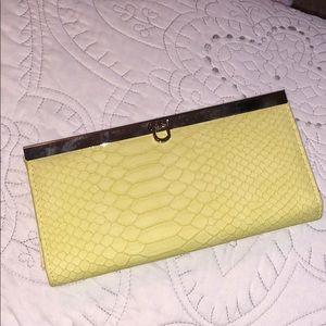 Handbags - Yellow wallet